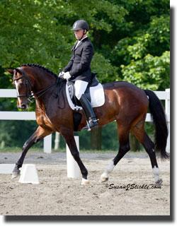 George Williams and Betsy Juliao's Cleopatra moving on up to the Developing Horse Division Credit: susanjstickle.com