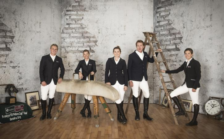 Team Australia (FEI/Richard Juilliart)