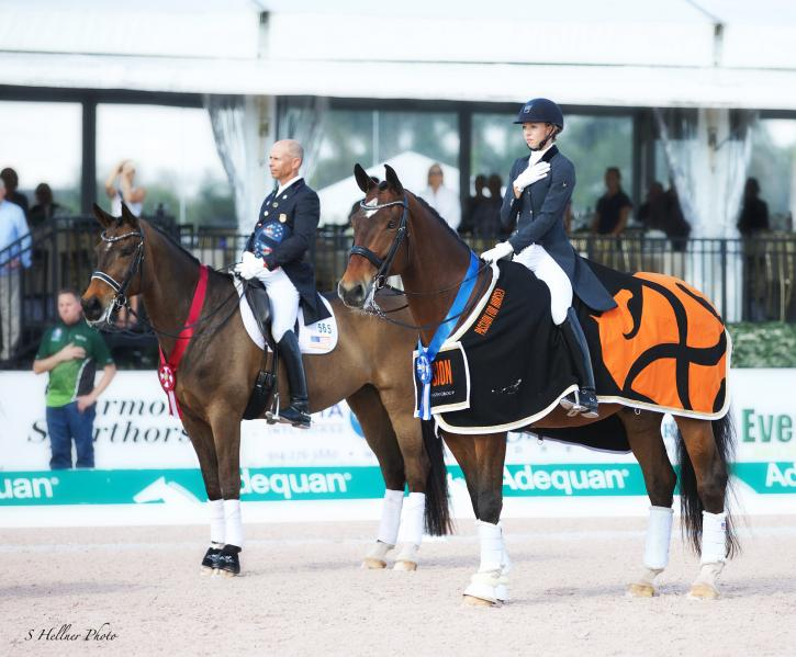 Laura Graves and Steffen Peters (Photo: Sara Hellner)