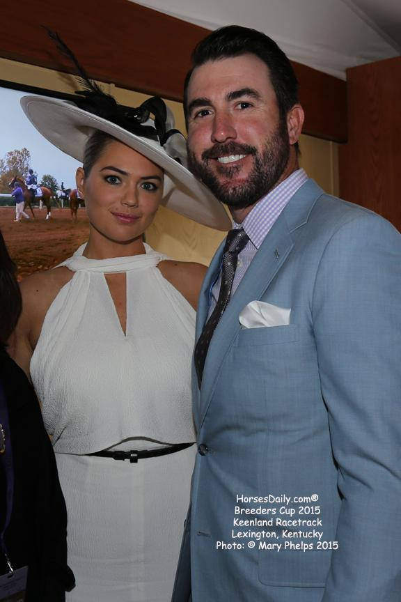 Kate Upton and Justin Verlander<br />Photo: © Mary Phelps 2015