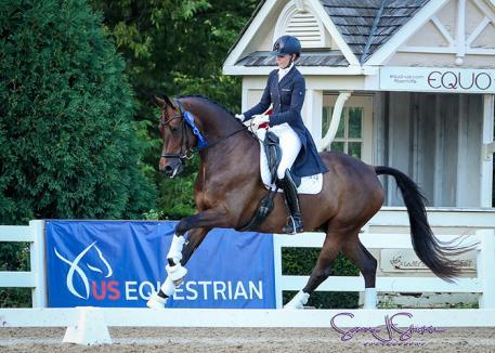 Carly Taylor Smith and Rosalut NHF take top prize on the first PSG competition (Photo: Susan J Stickle)