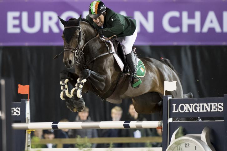 Cian O'Connor (IRL) and Good Luck (Photo: FEI/Richard Juilliart)