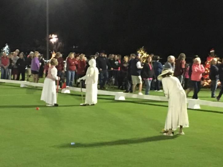 Croquet and Christmas Trees at Grand Oaks Resort