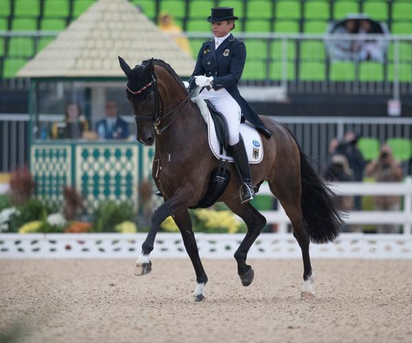 6th place Dorothee Schneider (GER) and Showtime (Photo: © Hippo Foto - Dirk Caremans)