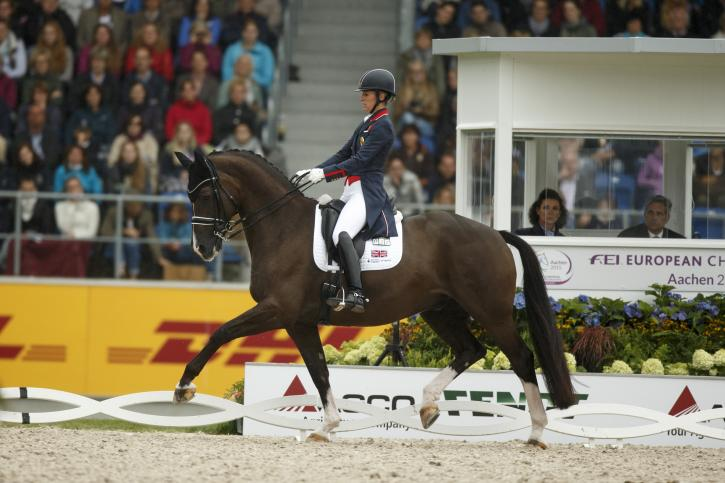 Charlotte Dujardin (GBR) and Valegro<br />Gold Medalist- Grand Prix<br />(Photo: Dirk Caremans)