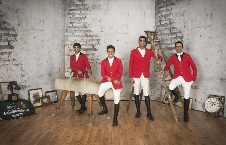 Team Egypt (FEI/Richard Juilliart)