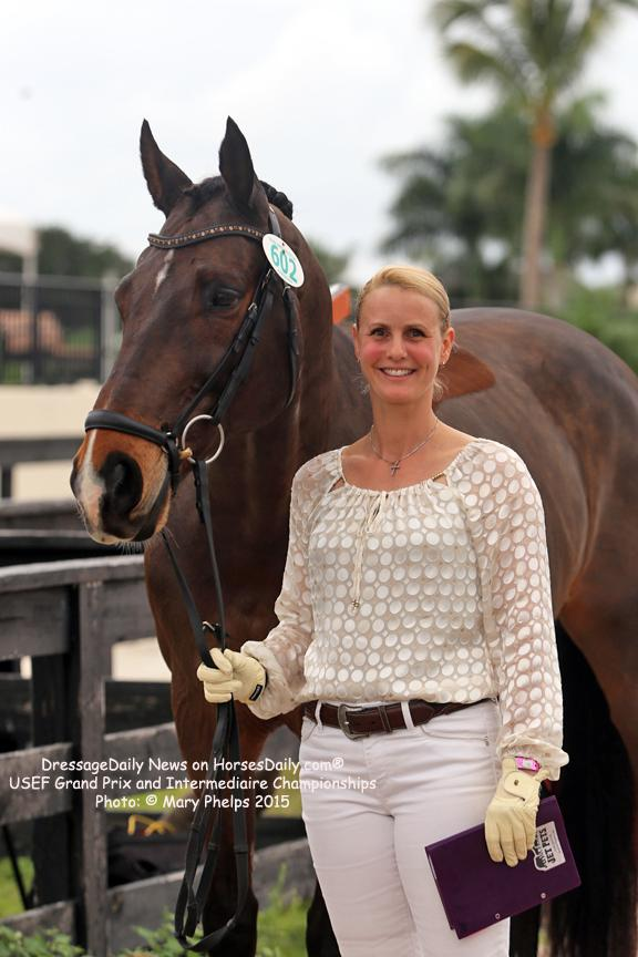 Beatrice Marienau with her own Stefano 8 (Photo: Mary Phelps)