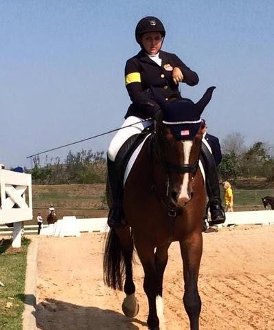 Sydney Collier and Western Rose - Grade 1b Individual Test