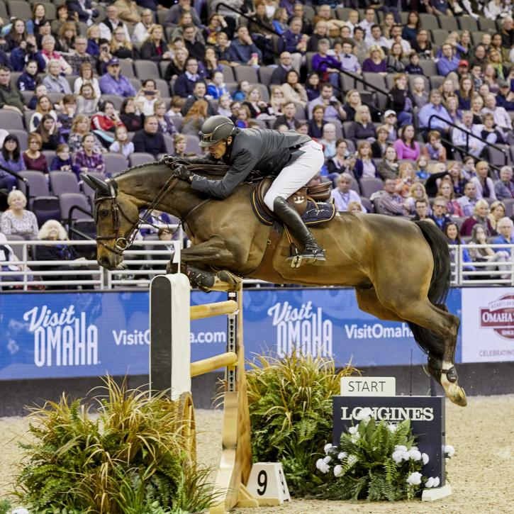 Gregory Wathelet (BEL) & Forlap (Photo: Liz Gregg/FEI)