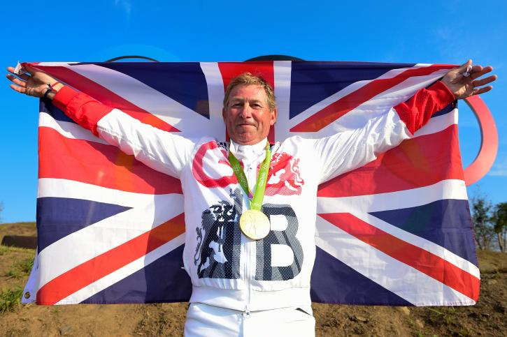 Nick Skelton made Olympic history when becoming the first ever British rider to win individual Jumping gold at Deodoro Olympic Park in Rio de Janeiro today. (Photo: Dirk Caremans)