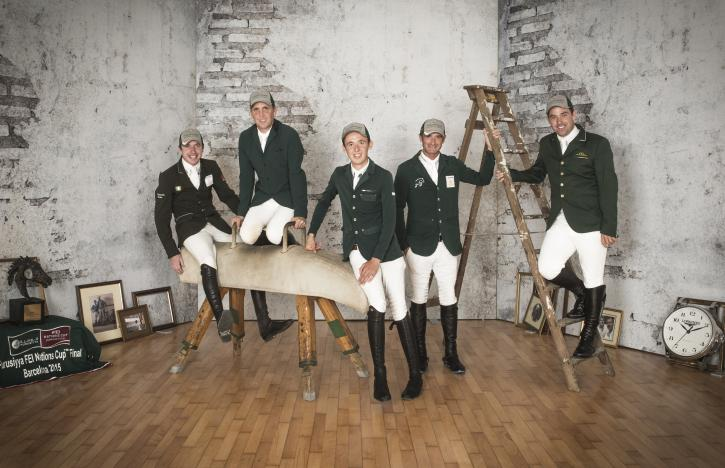 Team Ireland (FEI/Richard Juilliart)