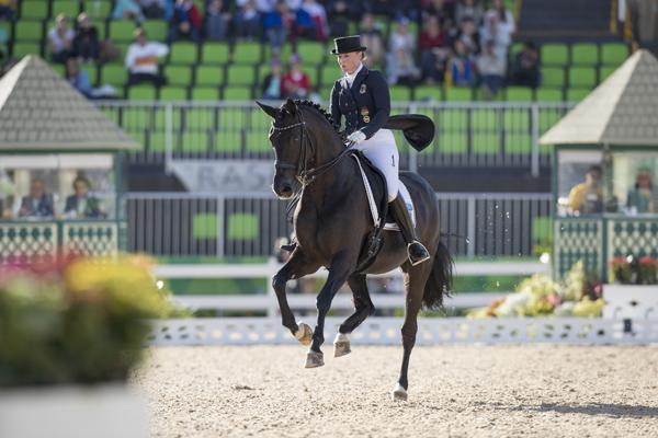 Silver Medal winner Isabell Werth and Weihegold OLD (Photo: © Hippo Foto - Dirk Caremans)