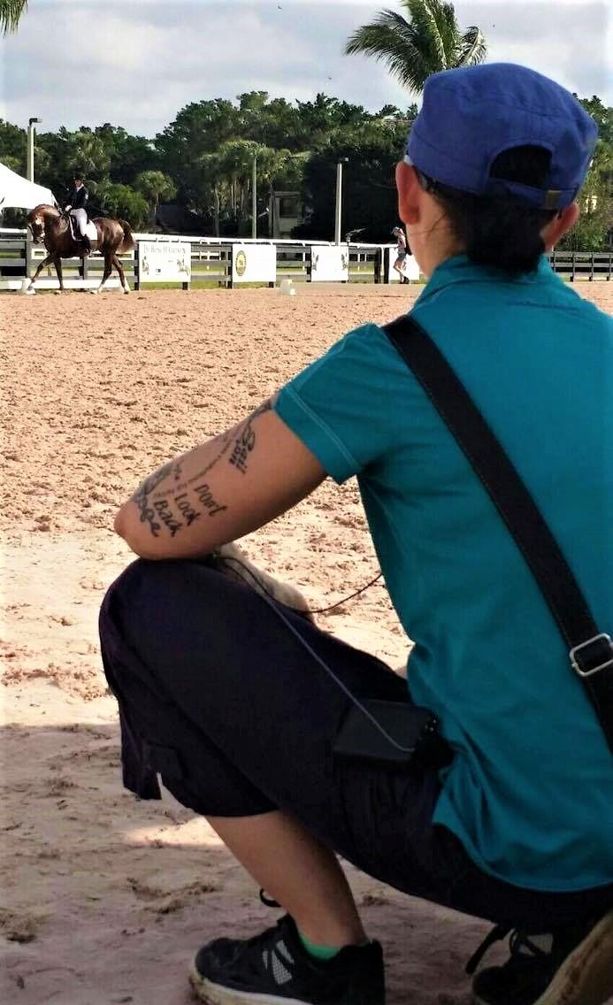 Janine Little wears multiple hats, from training young horses to coaching students in Florida.