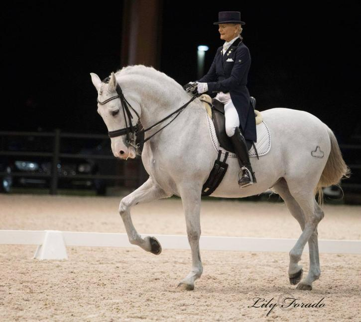 Janne Rumbough and Junior  (Photo: Lily Forado)