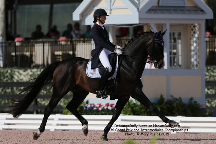 Charlotte Jorst and Kastels Nintendo (Negro x Rodieni R)<br />Owned by: Kastel Denmark<br />(Photo: Mary Phelps)