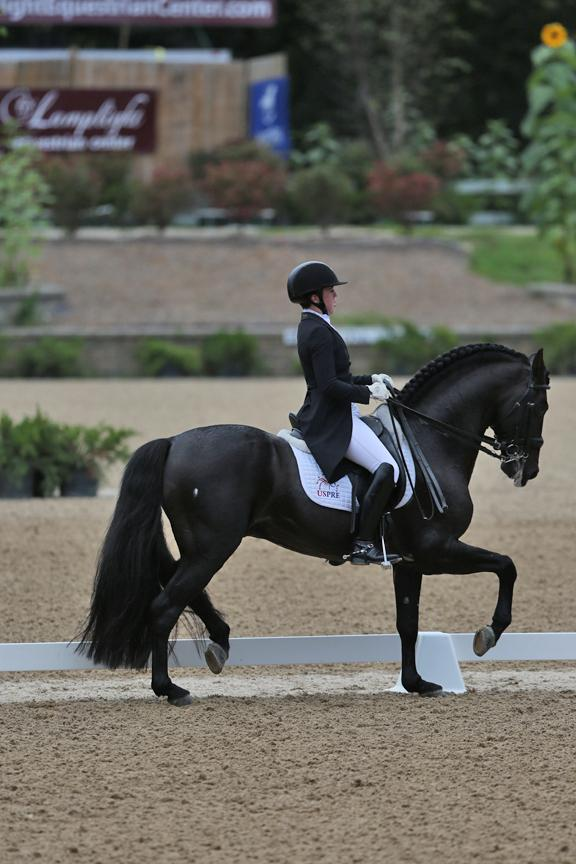 Kerrigan Gluch and HGF Brio<br />Photo: © Mary Phelps 2016