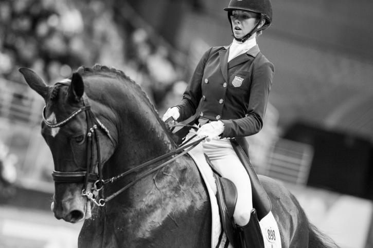 Laura Graves (USA) and Verdades (Photo: Cara Grimshaw/FEI)