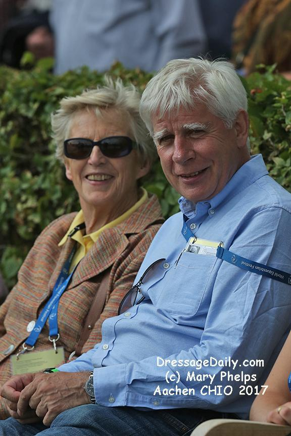 Madeleine Winter Schulze and Paul Schockemöhle. Photo: (c) Mary Phelps