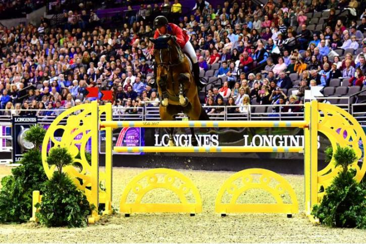 McLain Ward and HH Azur (Photo: Lili Weik)