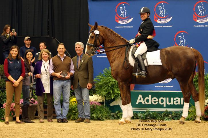 Michael Poulin and Thor win Reserve Grand Prix Open Photo: © Mary Phelps 2015