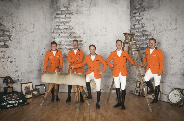 Team Netherlands (FEI/Richard Juilliart)