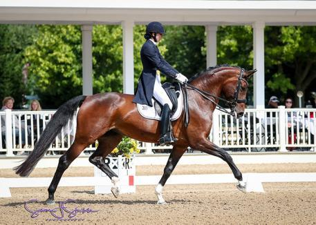 Nora Batchelder and Fifi MLW claim second on day one (Photo: Susan J Stickle)