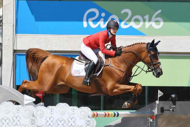 Lucy Davis and Barron made their Olympic debut with a Silver medal. (Photo: Diana DeRosa)