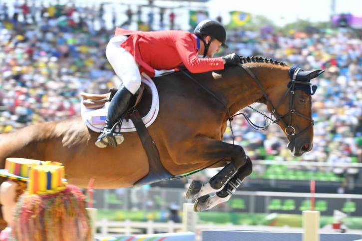 McLain Ward and Azur jumped a spectacular clear securing the Team USA's Silver medal. (Photo: Diana DeRosa)