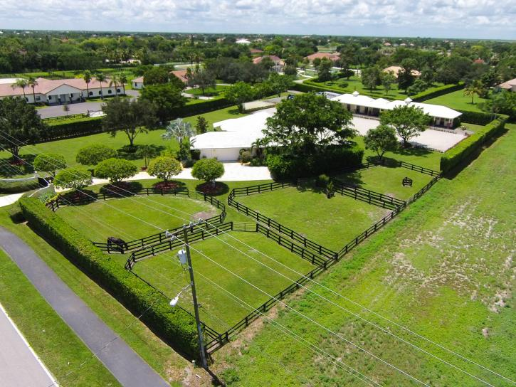 Well laid out paddocks