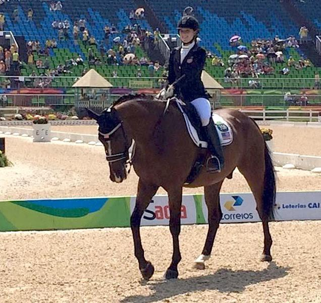 In her Paralympic debut, Annie Peavy on Lancelot Warrior placed 6th and 8th in Grade III out of 16 riders.