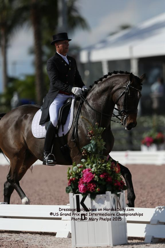 Steffen Peters and Legolas 92<br />Owned by: Four Winds Farm<br />(Photo: Mary Phelps)