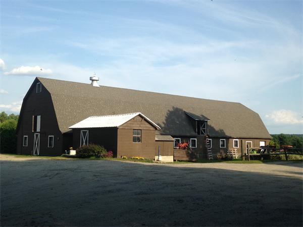 One of Several Barns on the Property