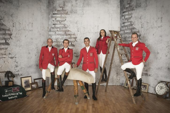 Team Poland (FEI/Richard Juilliart)