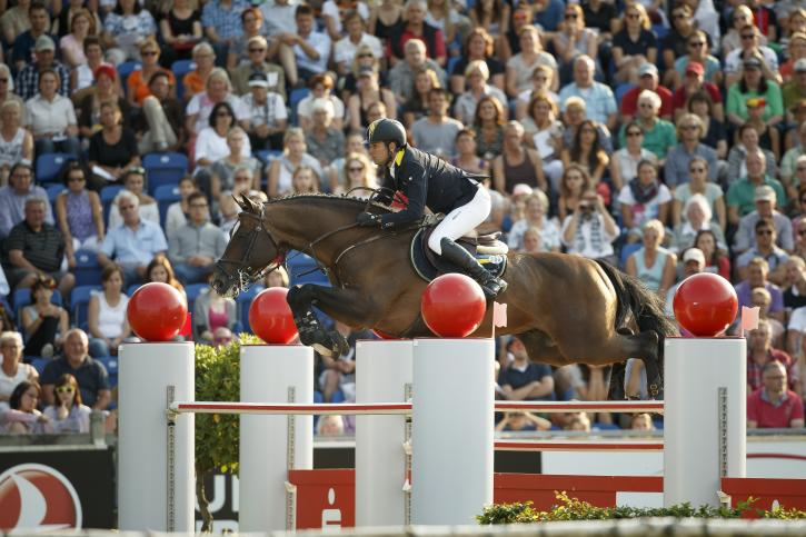 Cassio Rivetti (UKR) and Vivant<br />(Photo: FEI/Dirk Caremans)