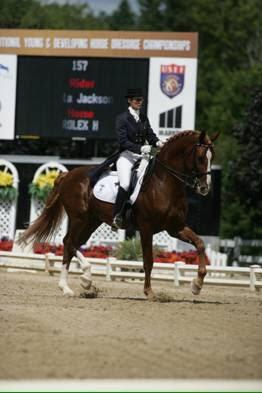Rolex H and Angela at U.S. Nationals.