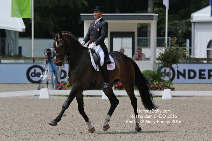 Steffen Peters and Legolas (USA) Photo: © Mary Phelps 2016