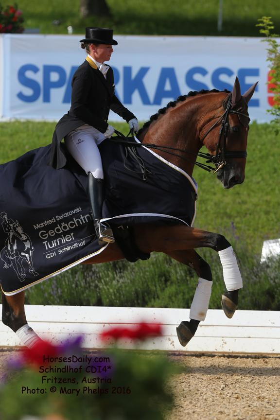 Isabell Werth (GER) and Emilio 107 Photo: © Mary Phelps 2016