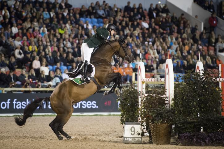 Shane Sweetman (IRL) riding Chaqui Z (Photo: FEI)