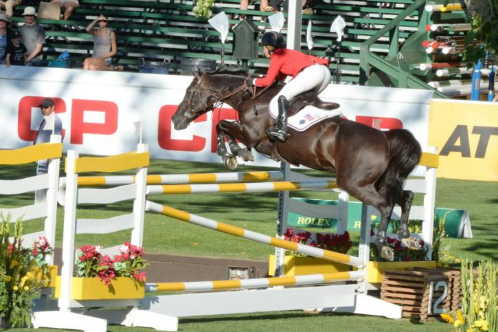 Beezie Madden (USA) and Cortes C (Photo: Diana DeRosa)
