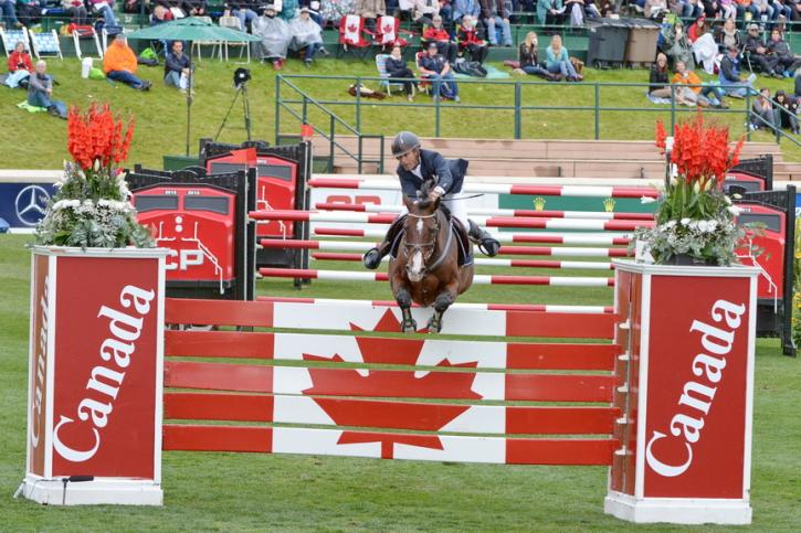 Richard Spooner (USA) and Cristallo (Photo: Diana DeRosa)