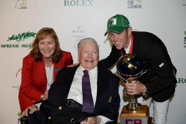 Linda and Ron Southern With Scott Brash (Photo: Diana DeRosa)