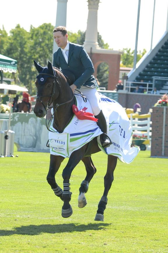 McLain Ward and HH Carlos Z (Photo: Diana DeRosa)