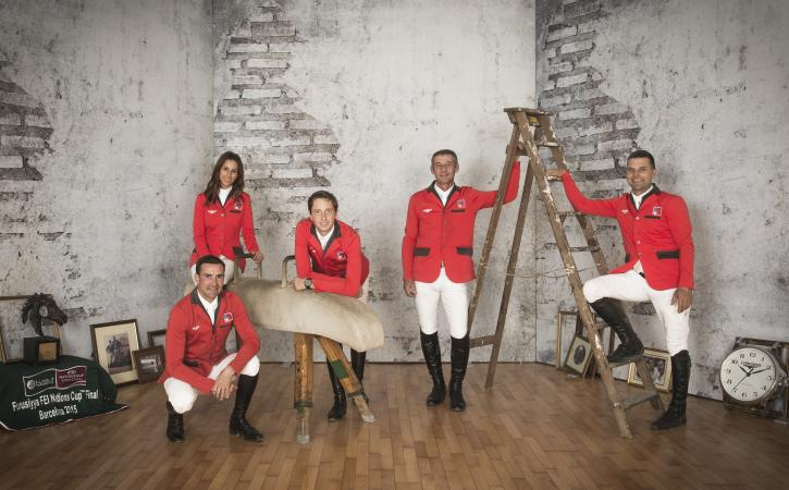 Team Switzerland (FEI/Richard Juilliart)