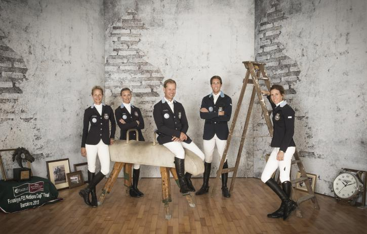 Team Sweden (FEI/Richard Juilliart)