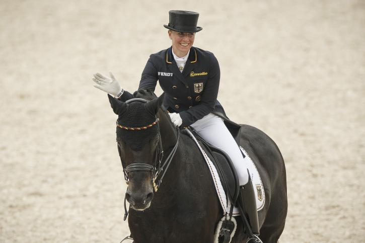Jessica Von Bredow-Werndl (GER) and Unee BB<br />(Photo: Dirk Caremans)