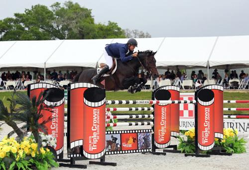 charlie jayne smoked the jump off to win of the great american 1 million grand prix at hits. Black Bedroom Furniture Sets. Home Design Ideas