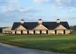 "Maplecrest Farm in Georgetown is nestled among the magnificent historic horse farms along the scenic route that defines Kentucky as the ""Horse Capitol of the World"" offering full service care and training."