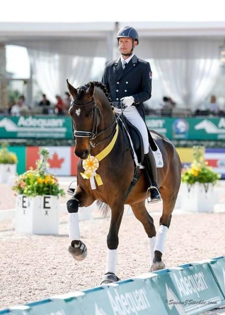 Jaimey and Donegal V making their CDI debut in Wellington, Florida 2016. (Photo: SusanJStickle.com)