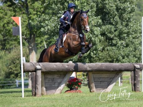 Amanda Beale Clement (USA) and BE Kilgoric Felix Photo: Cealy Tetley