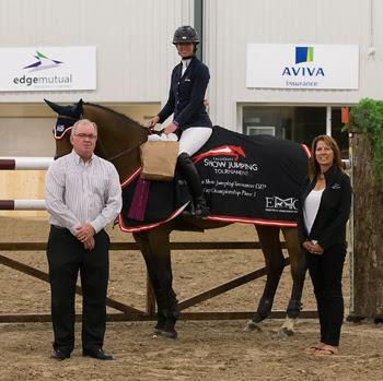 Amy Millar is the winner of the $35,000 CSI2* Caledon Cup